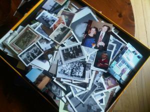 Box of Pics at Moms